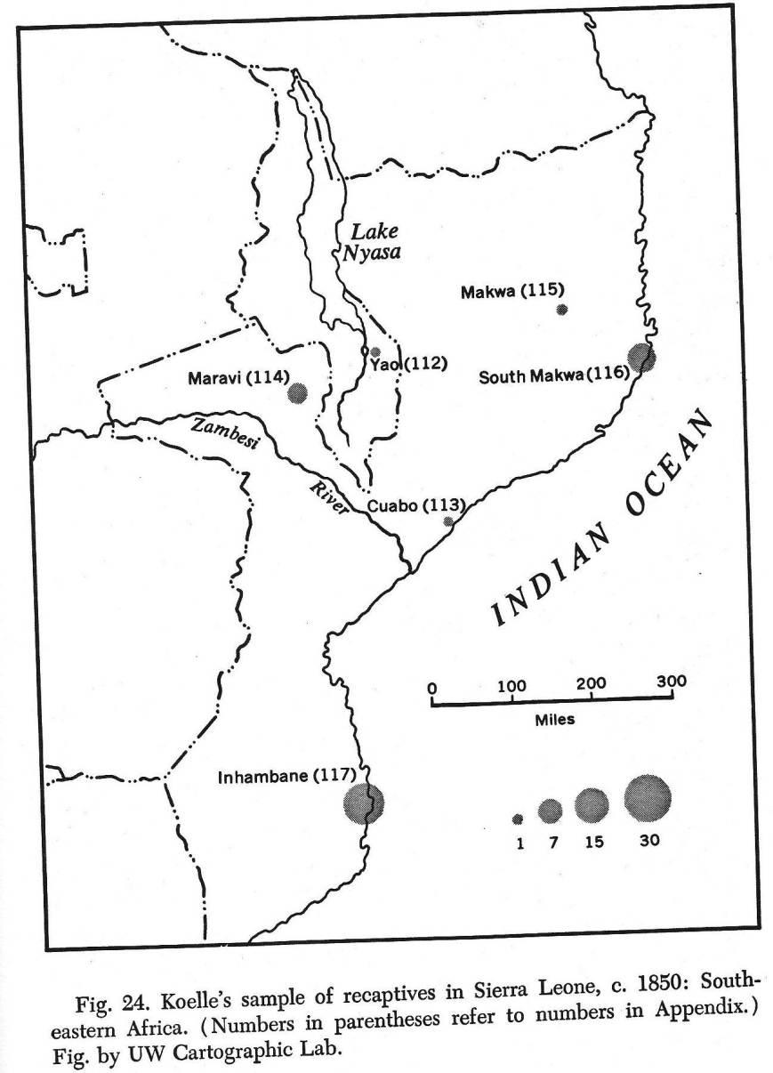SE Africa mapsl