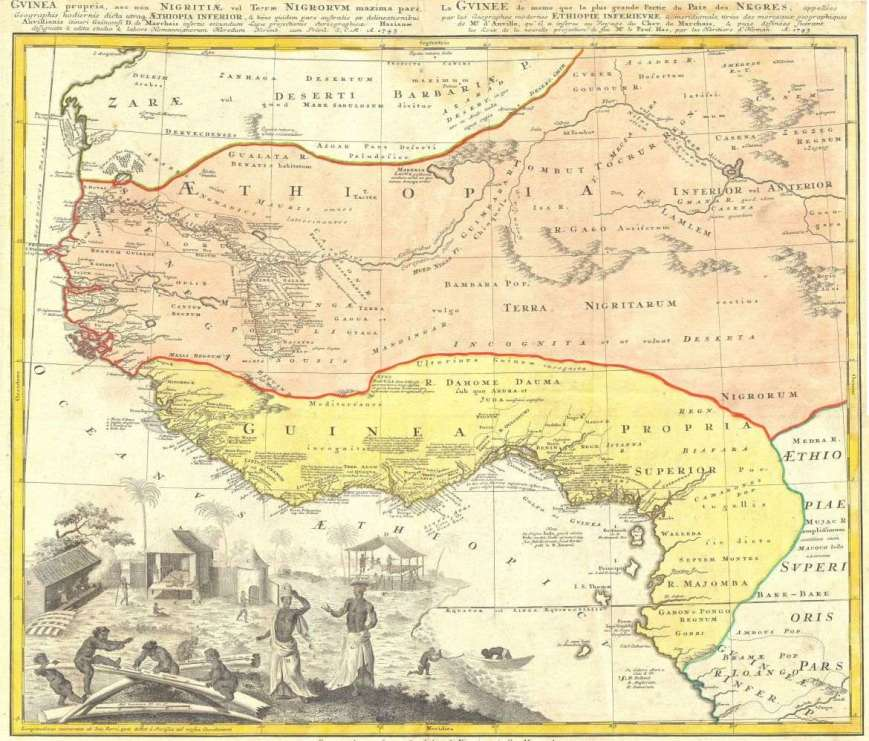 1743_Homann_Heirs_Map_of_West_Africav