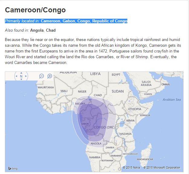 Cameroon&Congo