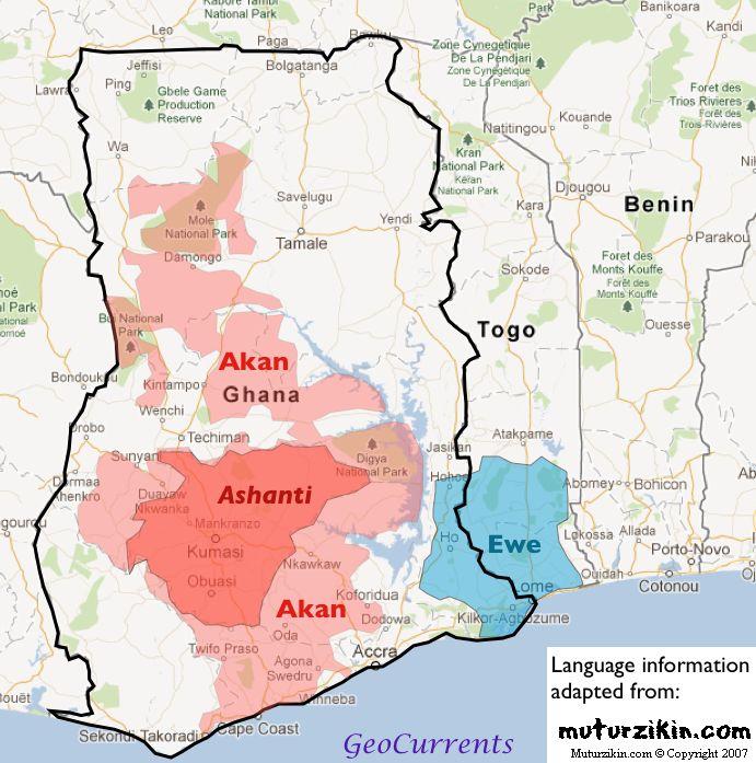 Ghana-Ashanti-Ewe-map