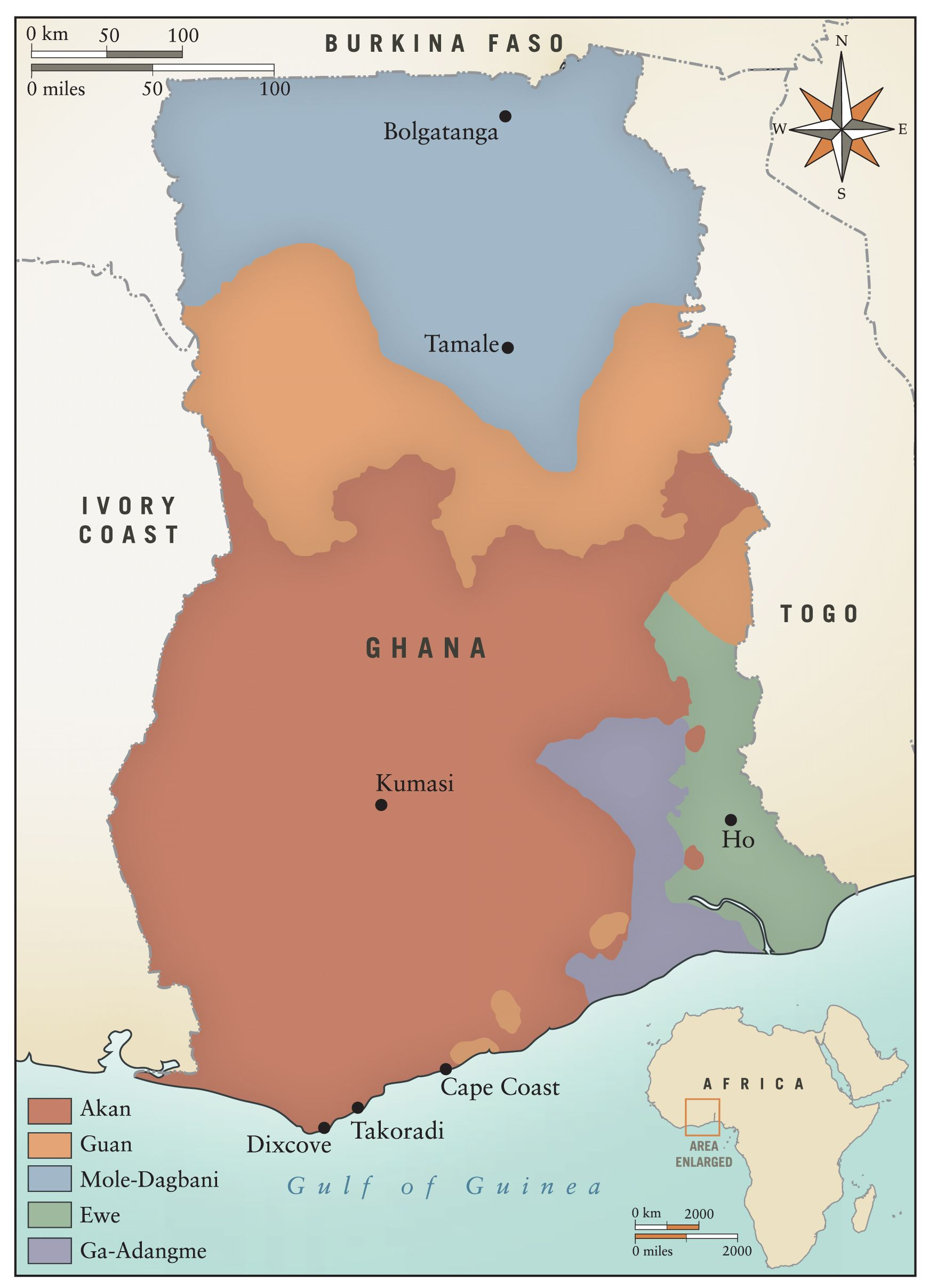 Lower Guinea  Tracing African Roots