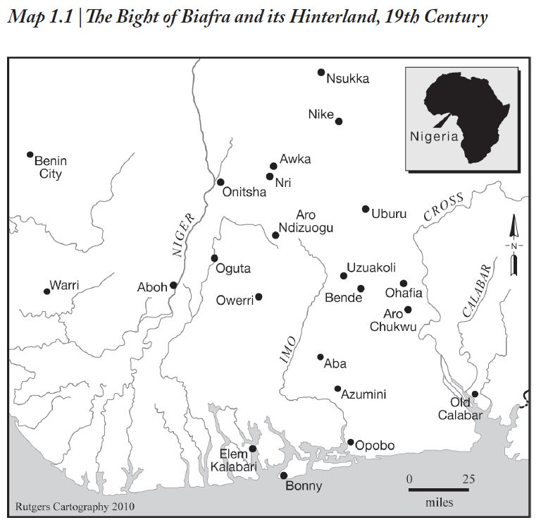 Lovejoy et al. - Map1.1 Bight of Biafra and Hinterland
