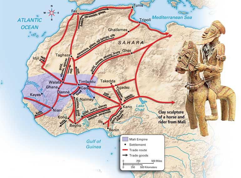 Africa_-_Mali_Map