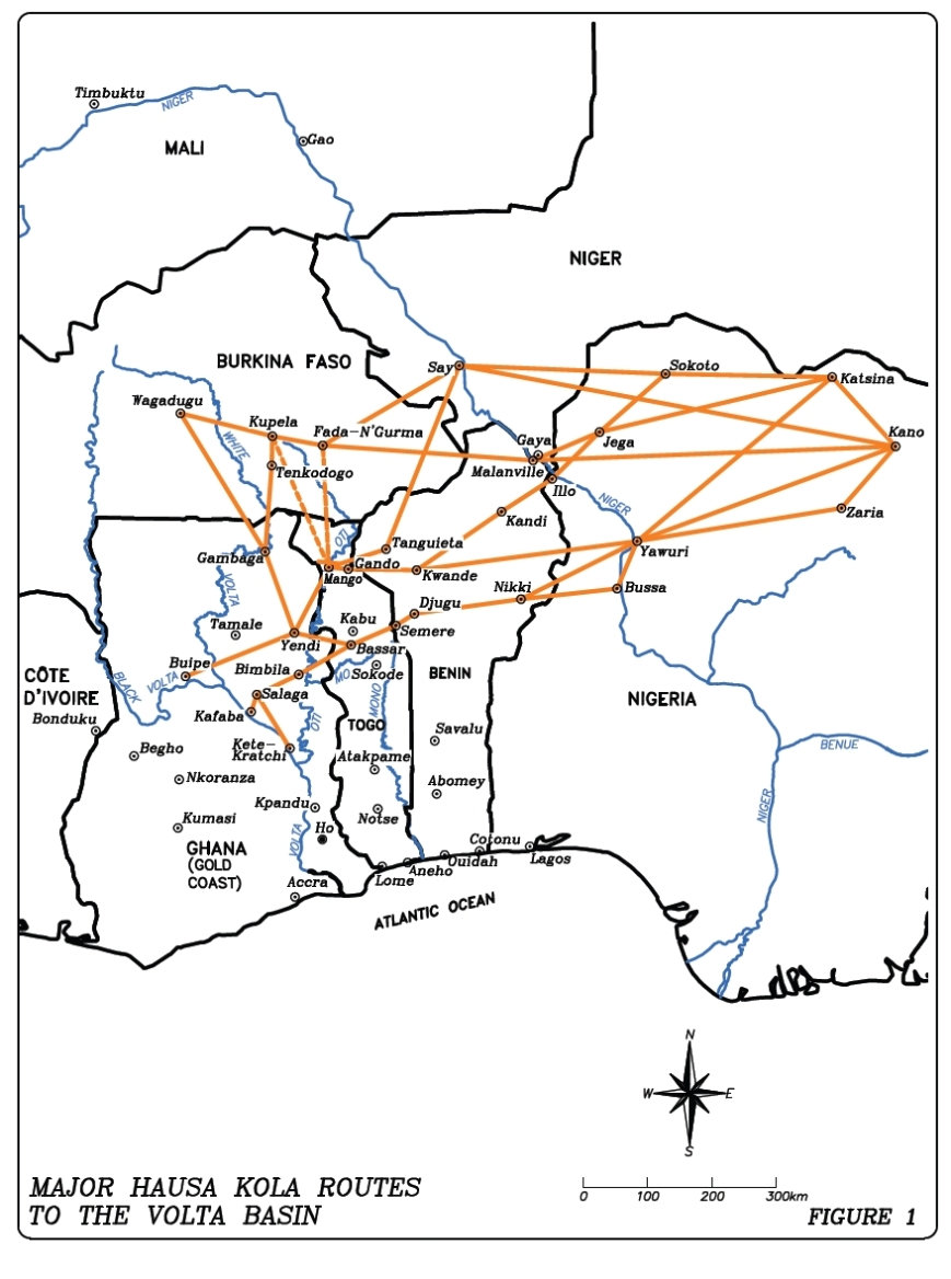 Hausa routes