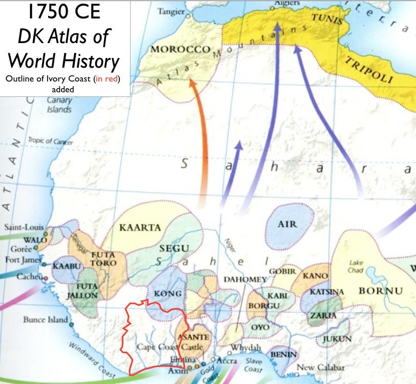 Ivory-Coast-History-Map