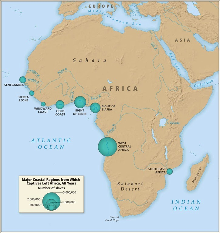 Southeast africa tracing african roots map africancaptives sciox Images
