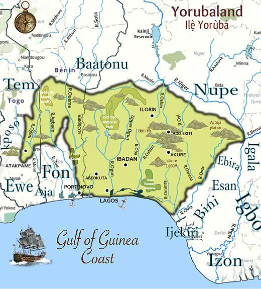 Yorubaland_Map