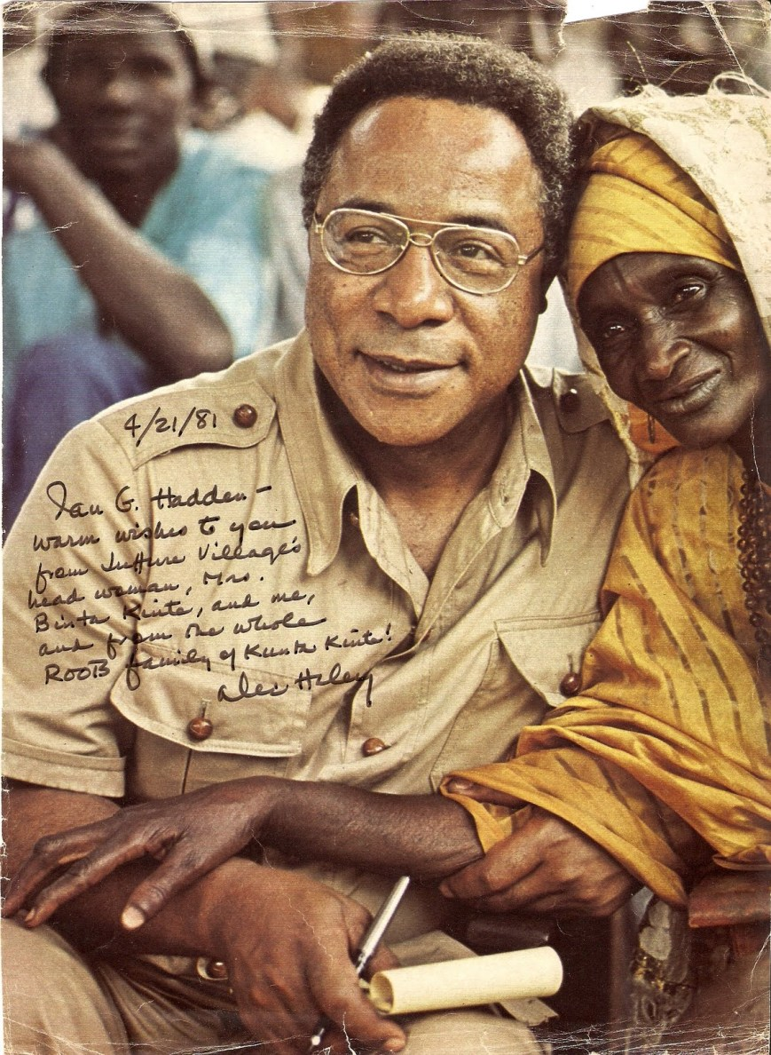 Alex Haley autographed photo