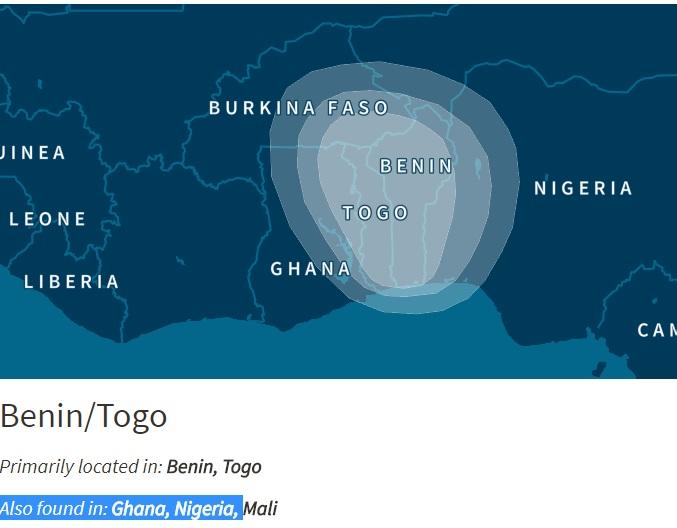 Benin Togo