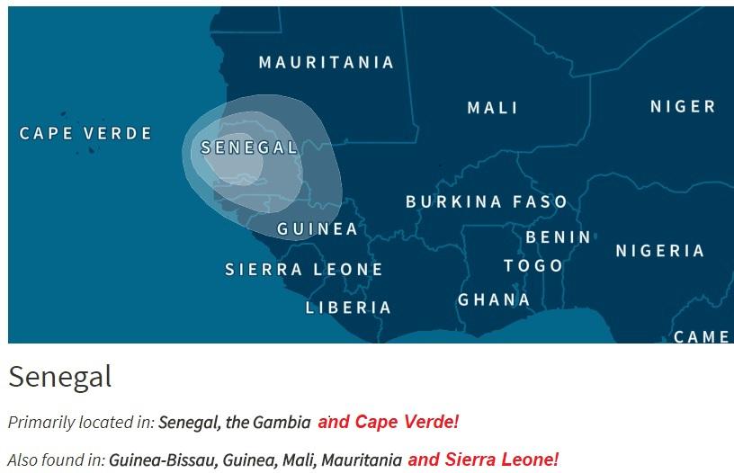 Senegal (Ancestry)