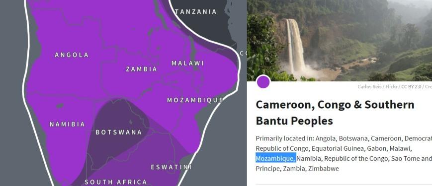 CamrCongo region