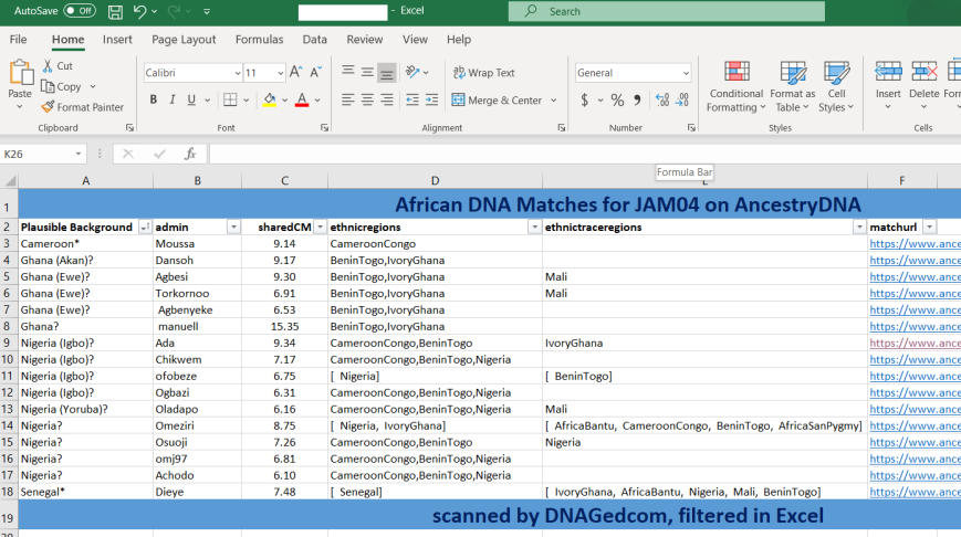 Excel JAM04